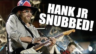 Hank Williams Jr. Isn't In the Country Hall of Fame, Here's Why