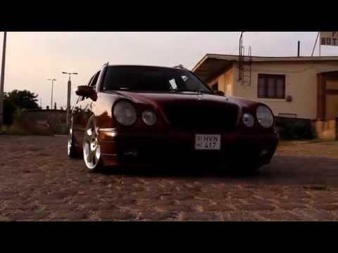 Air bagged Mercedes S210 | Ateri motorsport | PeasantFilms | Summertime part 5.