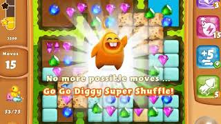 Diamond Digger Saga Level 1445 - NO BOOSTERS | SKILLGAMING ✔️