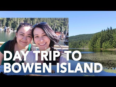 Day Trip to Bowen Island, BC || Gastrofork.ca