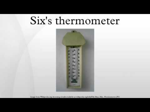 Six's thermometer - YouTube