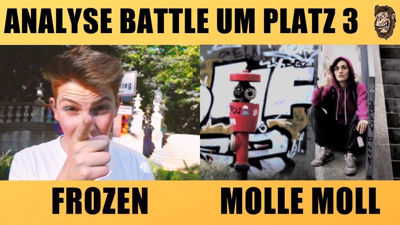🔴 Live-Bewertungen BuP3 Frozen vs Molle Moll