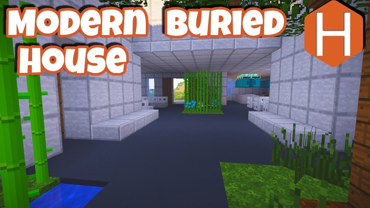 minecraft minimalist house