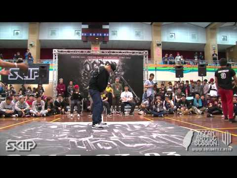 Breaking Semifinal-2 Zulu King vs Floor Like Water | 20130303 OBS VOL.7 TAIWAN FINAL