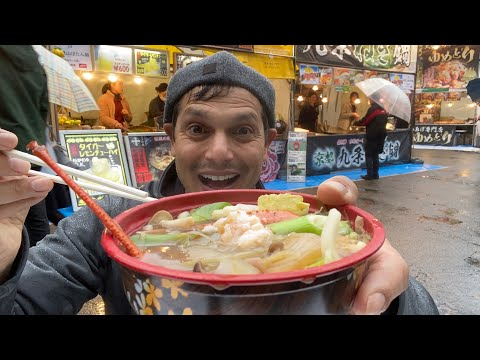 Japanese NABE Street Food Soup Experience In Tokyo