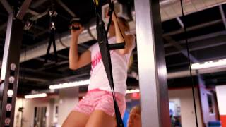 RISING STARS: Eugenie Bouchard Workout