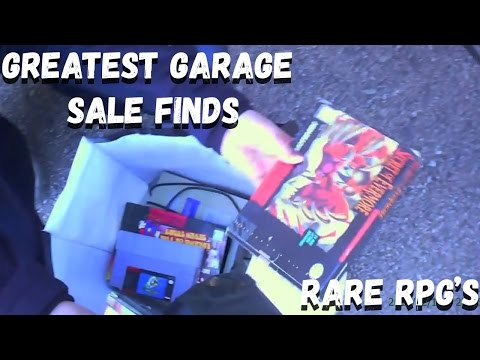GREATEST GARAGE SALE FINDS - Insane Super Nintendo Haul