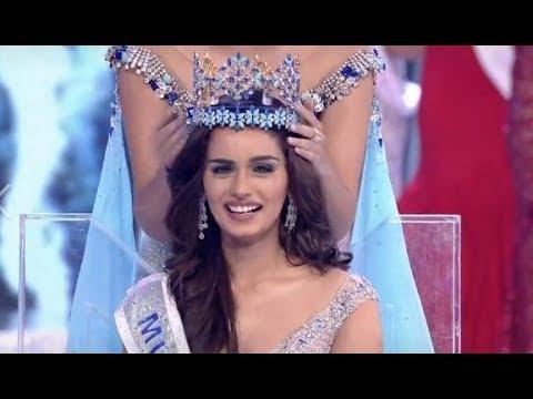 Miss India Manushi Chhillar crowned as Miss World 2017