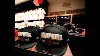 CHAMPION MERCH: Raptors fans flock for souvenirs after historic win