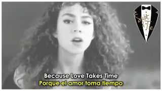 Mariah Carey - Love Takes Time ( Lyrics + Sub Español ) Official Video