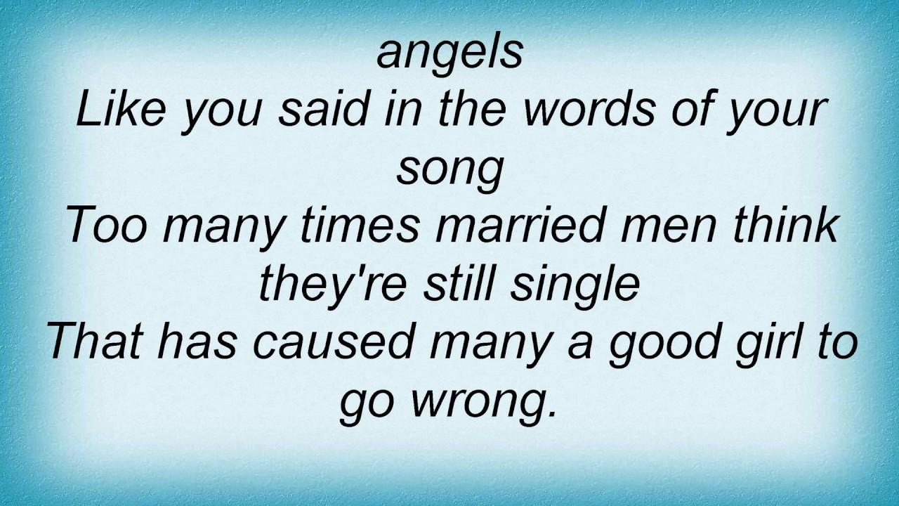 HANK THOMPSON - HONKY TONK ANGELS LYRICS