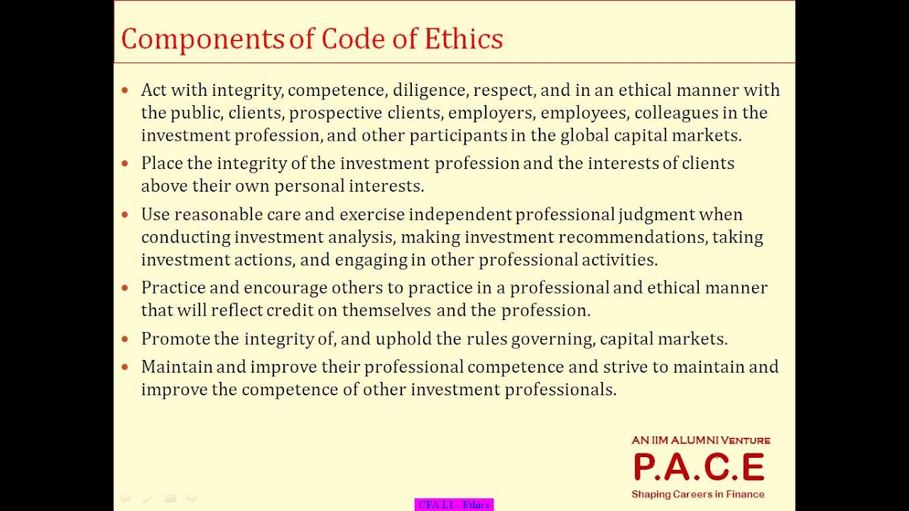 an analysis of the code of professional conduct Analysis and reporting of social or opinion research in maintaining professional standards the code is also intended to code of conduct is adhered to by all.