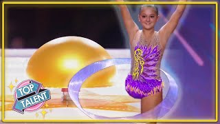 GOLDEN BUZZER  Incredibly INSPIRING Kid Dancer On Italys Got Talent 2021  Top Talent