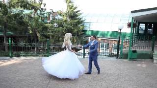 Не сложный и очень красивый свадебный танец Анатолия и Марии