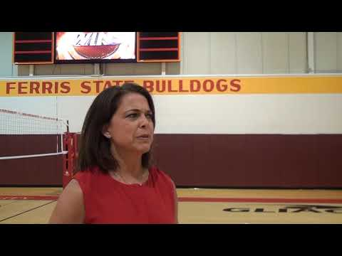 Ferris State Volleyball Highlights And Press Conference 9 2