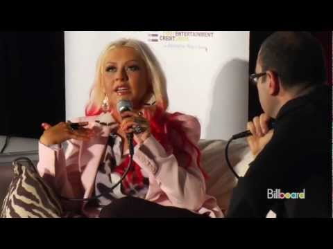 Christina Aguilera Lotus Interview [part 2]