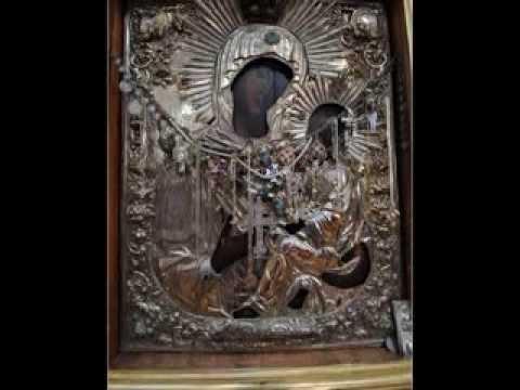 Тихвинская икона Божией Матери (Слезоточивая)  на Афоне
