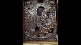 Тихвинская икона Божией Матери (Слезоточивая)  на Афоне(, 2014-03-02T10:11:02.000Z)