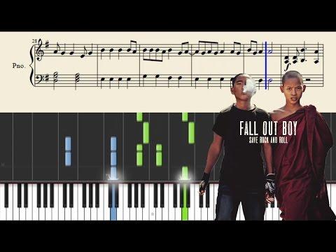 Fall Out Boy - The Phoenix - Piano Tutorial