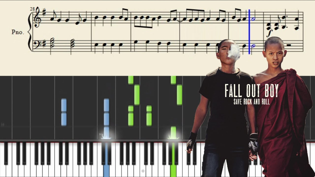 Fall out boy the phoenix piano tutorial youtube fall out boy the phoenix piano tutorial baditri Choice Image