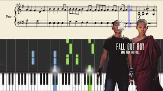 Fall Out Boy - The Phoenix - Piano Tutorial