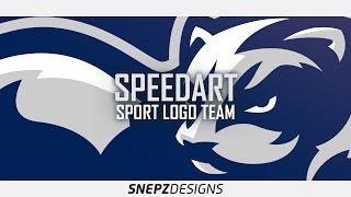 E-sport logo- Ferrets (Photoshop CS6)