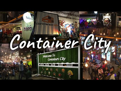 Container City Miri | Latest Street Food Attraction