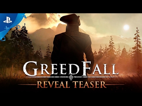 GreedFall Cinematic Reveal Teaser Trailer - PS4, Xbox One, PC - Open World RPG (2018)