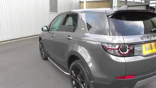 Land Rover DISCOVERY SPORT 2.0 SD4 240 HSE Black 5dr Auto U14176