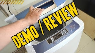 LG 6.2 kg Fully Automatic Top Loading Washing Machine [T72CMG22P] DEMO / REVIEW Flipkart Purchase