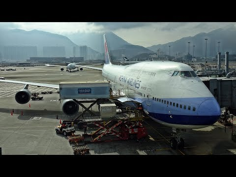SHORTHAUL ON A 747! | HONG KONG - TAIPEI | CHINA AIRLINES | ECONOMY CLASS