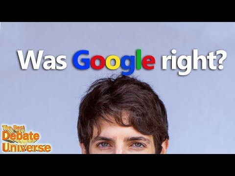 Was Google right to fire the engineer? Jamie Pine on The Best Debate in the Universe