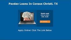 Payday Loans Corpus Christi, TX | Online Cash Advance