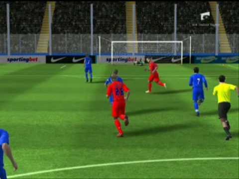 My fifa09 goals fprl 2.0 steaua romania (imn de mihai alexandru)