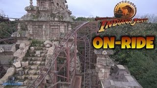 Indiana Jones Et Le Temple Du Péril Coaster On-ride (Complete HD Experience) Disneyland Paris