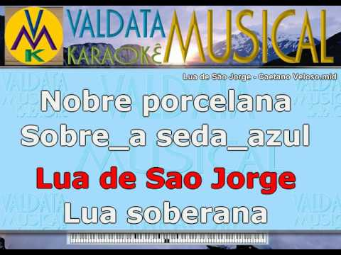 Lua de São Jorge   Caetano Veloso   Karaoke