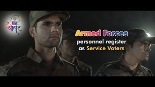 Armed Forces personnel register as Service Voters