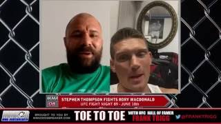 UFC Fight Night 89's Stephen Thompson: 'Rory MacDonald is a tougher fight for me than Robbie Lawler'