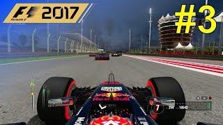 F1 2017  -   Lets Make Verstappen World Champion #3   100% Race Bahrain