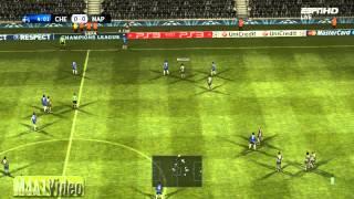 PES2012 UCL Predicts Result: Chelsea vs. Napoli