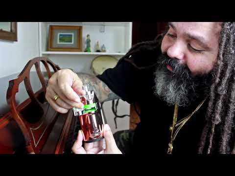 GHOST MV1 Vaporizer's best features rundown by Carmelo from Gomba Jahbari