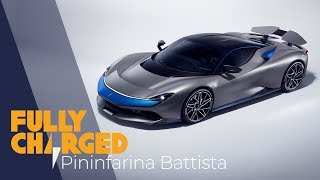 Pininfarina Battista 1900hp Ev Hypercar - The Most Powerful Italian Car Ever? | Fully Charged 4k