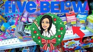 CINQ BELOW CHRISTMAS SHOPPING!!! 1 $ à 5 $ FORNITE, ROBLOX, MAKEUP - PLUS!!!