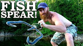 Forging a FISH SPEAR That Works! | 'Blacksmith Style' Catch and Cook