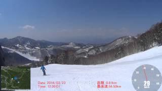 140323志賀高原 東館山オリンピックコース
