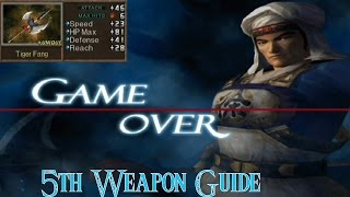 Xu Huang 5th weapon- Dynasty Warriors 3 Xtreme Legends