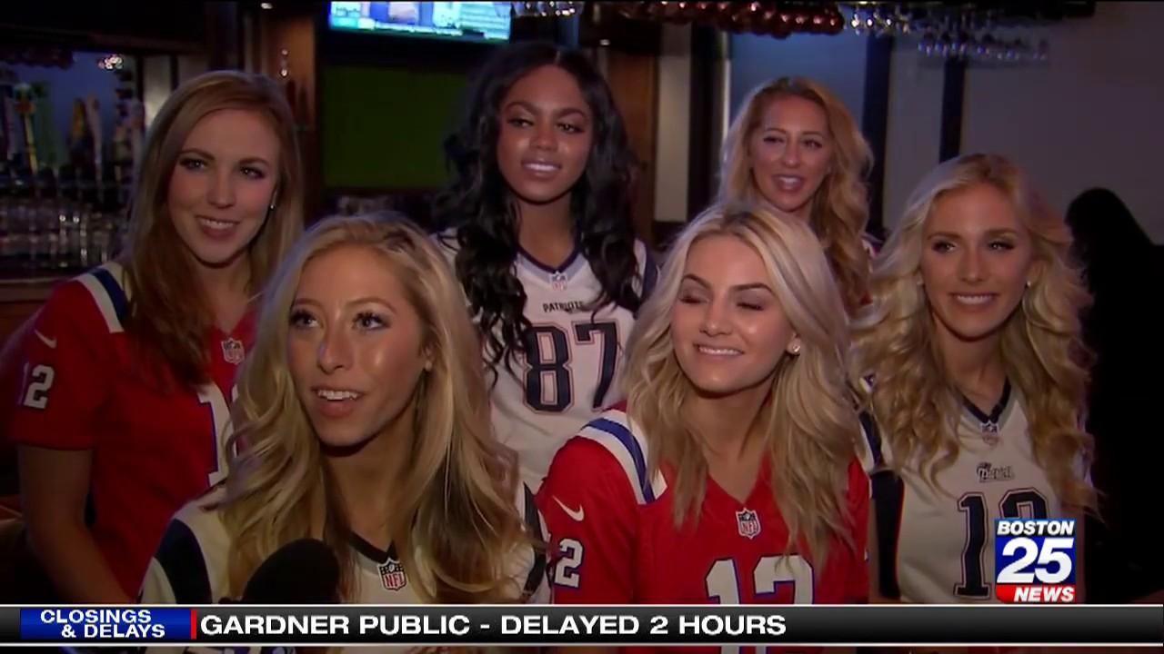 Patriots Cheerleaders warmly embraced in Atlanta - YouTube e5613acb0e7ca