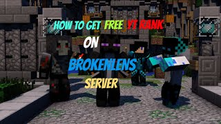 How to get YT Rank on Mcpe Servers!