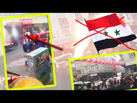 حقيقة عزف النشيد السوري ورفع العلم في افتتاح مطعم باسطنبول   لم الشمل