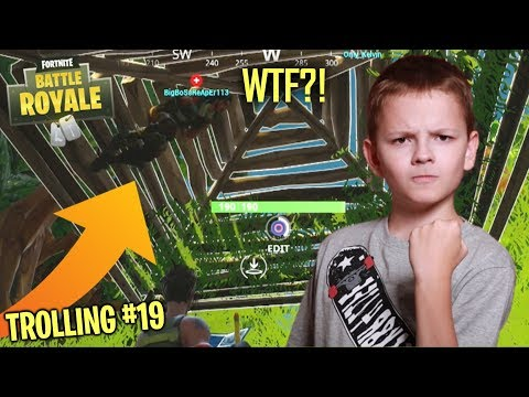 UNDER THE MAP TROLLING TEAMMATES ON FORTNITE - ANGRIEST KID ON FORTNITE RAGES (Fortnite Trolling)